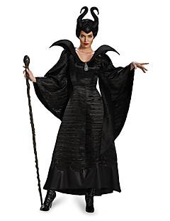 billige Voksenkostymer-Engel & Demon / Film & Tv Kostymer Cosplay Kostumer Sexy Uniformer Svart Terylene Cosplay-tilbehør Halloween / Karneval kostymer