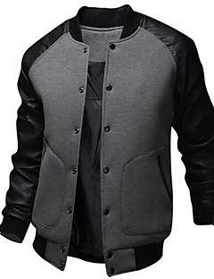 Men's Daily Active Daily Winter Fall Bomber Jacket