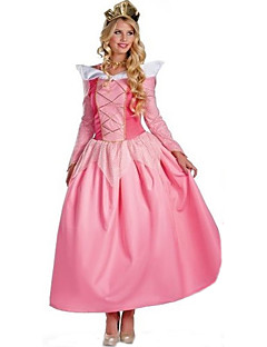 tanie Kostiumy filmowe i telewizyjne-Księżniczka Bajkowe Królowa Kostiumy Cosplay Kostiumy z filmów Sukienka Czapki Halloween Karnawał Poliester