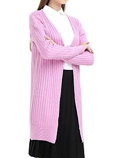 billige Skjorte-Dame Trykt mønster Afslappet Skjorte