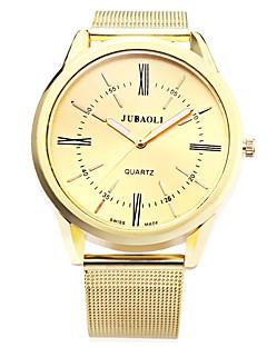 billige Høj kvalitet-JUBAOLI Herre Armbåndsur Quartz Guld 30 m Hot Salg Analog Vedhæng Afslappet Mode - Hvid Sort Blå Et år Batteri Levetid / SSUO LR626