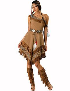 Primitiv Cosplay Kostumer Party-kostyme Kvinnelig Halloween Jul Karneval Nytt År Festival/høytid Halloween-kostymer Trykt mønster