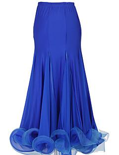 cheap Weddings & Prom 2018-Ballroom Dance Bottoms Women's Performance Spandex Draping Dropped Skirt