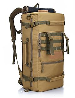 50 L Reise Duffel Bag ryggsekk Ryggsekk Klatring Camping & Fjellvandring Vanntett Anvendelig Nylon