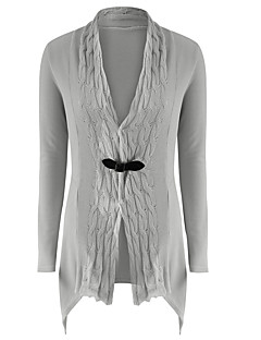 Women's Going out Daily Holiday Sexy Casual Street chic Long Cardigan