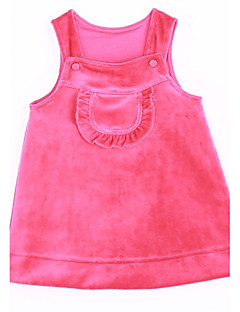 Baby Daily Solid Tank & Cami-Cotton-Winter / Fall-Pink