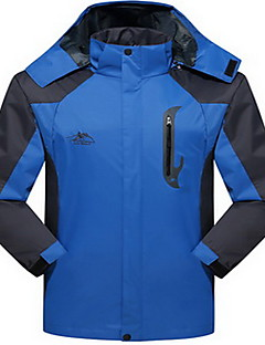 Men's Women's Hiking Softshell Jacket Waterproof Thermal / Warm Windproof Insulated Comfortable Top for Camping / Hiking Snowsports