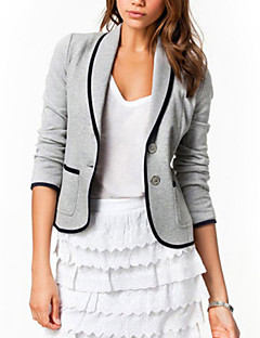 cheap Women's Blazers & Jackets-Women's Work Plus Size Jacket - Solid