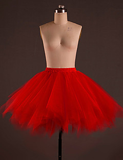 Balet Spodní část oděvu Dámské Trénink Polyester Nařasený Jeden díl Spuštený Sukně