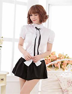 billige Sexy Kropper-Dame Store størrelser Sexy Ultrasexy / Uniformer og kinesiske kjoler / Dress Nattøy Sløyfe