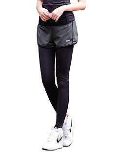 billige Løbetøj-Dame Løbetights / Træningsleggings Tøjsæt - Sport Yoga, Træning & Fitness, Løb Hurtigtørrende, Åndbart