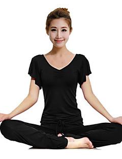 Yoga & Dansesko Klessett Pustende Bekvem Stretch Drakter Dame Yoga & Danse Sko