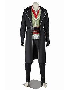 halpa -Supersankarit Assassin Cosplay Cosplay-Asut Naamiaisasu Juhla-asu Halloween Props Elokuva Cosplay Takki Toppi Housut Vyö Lisää tarvikkeita