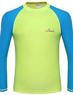 BlueDive® Unisex Wet Suits Duik Skins Natpak top Ademend Sneldrogend Ultra-Violetbestendig Vier-weg stretch Chinlon Duikpak