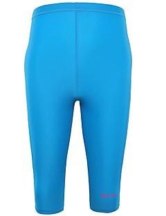 BlueDive® 女性用 男性用 男女兼用 ウェットスーツ ダイブスキン ウェットスーツショーツ 速乾性 抗紫外線 シームレス 快適 UPF50+ タクテル 潜水服 ショートパンツ スイムウェア クロップパンツ ダイビングスーツ ボトムズ 洋服セット/スーツ-ヨガ