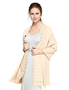 Kashmir Puuvilla Häät Juhlat/Ilta Lyhyt naisten takki Shaalit