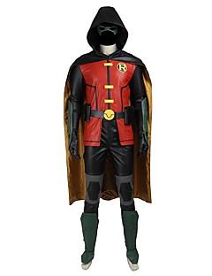 גיבורי על עטלפים קוספליי תחפושות קוספליי עזרים ל-Halloween תחפושת למסיבה נשף מסכות תחפושות משחק של דמויות מסרטים מעיל מכנסיים כפפות חגורה