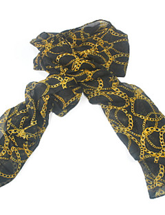 New Korean Version Of Long Section Of The Chain Chiffon Large Scarf Sunscreen Shawl