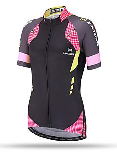 Χαμηλού Κόστους -XINTOWN Φανέλα ποδηλασίας Γυναικεία Κοντομάνικο Ποδήλατο Μπολύζες Γρήγορο Στέγνωμα Αναπνέει Πίσω τσέπη Anti Transpirație Άνετο Τερυλίνη