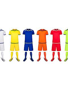 Děti Fotbal Sady oblečení Pohodlné Jaro Léto Zima Podzim Jednobarevné Polyester Fotbal