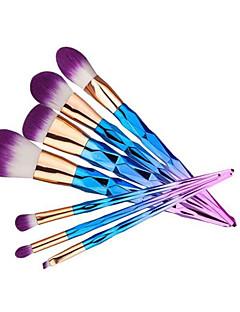 7 Concealer-børste Pudderbørste Foundationbørste Konturbørste Brush Sets Rougebørste Øjenskyggebørste Syntetisk HårMiljøvenlig Bærbar