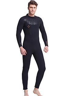 בגדי ריקוד גברים 5mm חליפות רטובות ייבוש מהיר עיצוב אנטומי חדירות ללחות נושם דחיסה ניאופרן חליפת צלילה שרוול ארוך חליפות צלילה-שחייה צלילה