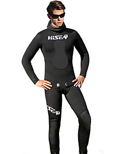 HISEA® 男性用 5mm ウェットパンツ フルウェットスーツ ウェットトップ 防水 保温 抗放射線 山本 潜水服 サイクリングタイツ ダイビングスーツ-潜水 シュノーケリング スキューバ 春 夏 冬 ファッション 花/植物