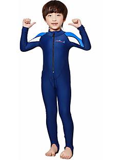 halpa -Dive&Sail Miesten Lasten Skin-tyyppinen märkäpuku Nopea kuivuminen Anatominen tyyli Hengittävä Hikeä siirtävä Spandex Pitkähihainen