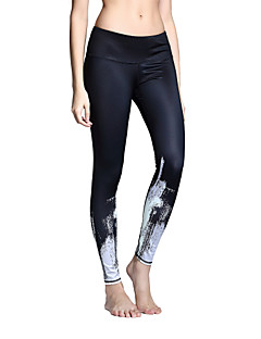 Women's Running Tights Gym Leggings Quick Dry Breathable Tights Bottoms for Yoga Pilates Exercise & Fitness Leisure Sports Running