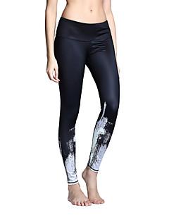 Mulheres Leggings de Ginástica Leggings de Corrida Secagem Rápida Respirável Meia-calça Calças para Ioga Pilates Exercício e Atividade