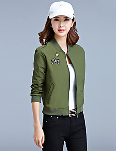 Zeichen Herbst neue lang-sleeved Jacke kurzen Punkt koreanischen wilden Damen Jacke Mantel Studenten