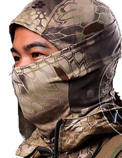 baratos Roupas de Caça-Unisexo Máscaras de Esqui Caça / Esportes Relaxantes Á Prova-de-Pó / Vestível Primavera / Outono / Inverno Roupa Esportiva 1 Pça.