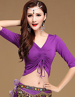 Shall We Belly Dance Tops Women Training  Modal 1 Piece Dance Costumes