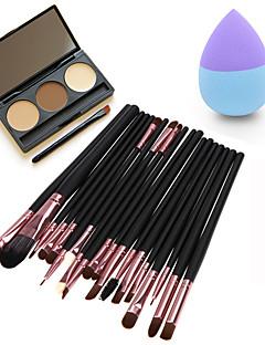 Concealer/kontur+Concealer Øjenskygger Øjenbryn Pulver Puff/Skønhedsblender Makeupbørster Tør Øjne Ansigt Concealer Ujævn hud Andet