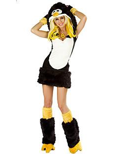 Dyremønster Cosplay Kostumer Kvinnelig Halloween Festival/høytid Halloween-kostymer Svart og Hvit Andre