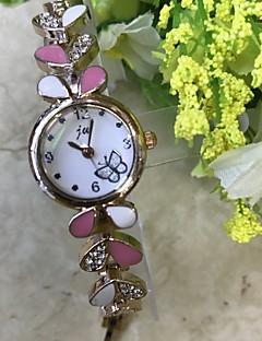 billige Armbåndsure-Dame Quartz Simuleret Diamant Ur Armbåndsur Kinesisk / Imiteret Diamant Legering Bånd Afslappet Mode Rose Guld