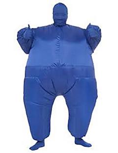 billige Halloweenkostymer-Wrestler Cosplay Kostumer / Halloween Utstyr / Maskerade Film-Cosplay Trikot / Heldraktskostymer / Air Blower Jul / Halloween / Karneval polyester / Oppblåsbart kostyme