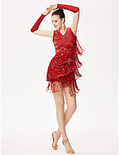 Недорогие -Мы будем латинскими танцами наряды для женщин, 3 перчатки