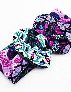 tanie Akcesoria dla dzieci-Akcesoria do włosów - Dla obu płci - Na każdy sezon - Bawełna Navy Blue Purple Fuchsia Khaki Granatowy