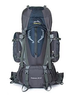 85 L Ryggsekk Klatring Fritidssport Camping & Fjellvandring Regn-sikker Støvtett Pustende Multifunksjonell