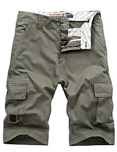 baratos Calças e Shorts para Trilhas-Homens Shorts de Trilha Ao ar livre Respirável Calças Acampar e Caminhar / Pesca