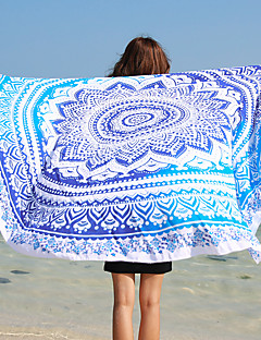 Beach Towel,Reactive Print High Quality 100% Polyester Towel