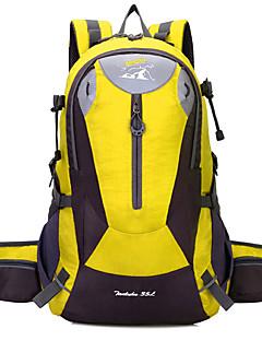 billiga Ryggsäckar och väskor-35 L Ryggsäckar - Vattentät, Bärbar, Stötsäker Utomhus Camping Orange, Rubinrött, Gul