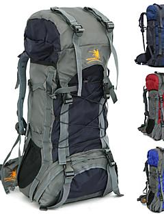60L L Ryggsekk Pakker Ryggseker til dagsturer Reise Duffel Bag Reiseorganisator ryggsekk Ryggsekk Jakt Camping & Fjellvandring Reise