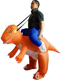 Cosplay Kostumer Halloween Utstyr Maskerade Oppblåsbart kostyme Monstere Film-Cosplay Oransje Trikot/Heldraktskostymer Air Blower