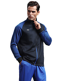 Homens Futebol Jaqueta Blusas Respirável Confortável Primavera Inverno Outono Esportes Terylene Futebol