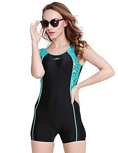 זול בגד ים ספורטיבי-SBART בגדי ריקוד נשים בגד ים נושם ניאופרן ללא שרוולים ביגוד חוף בגדי ים צלילה