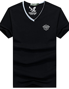 남성용 하이킹 T-셔츠 빠른 드라이 통기성 티셔츠 탑스 용 피싱 여름 L XL XXL XXXL XXXXL