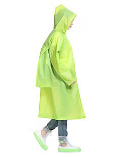 cheap Softshell, Fleece & Hiking Jackets-Men's Women's Unisex Hiking Raincoat Outdoor Winter Waterproof Rain-Proof Thick Comfortable Poncho Camping / Hiking Hunting Fishing
