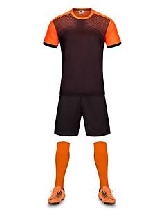 Homme Football Ensemble de Vêtements Séchage rapide Respirable Eté Polyester Football